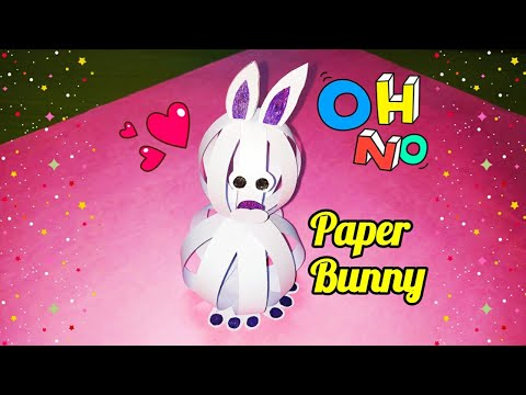 Paper Ball Bunny | Paper Bunny Craft | 3D Paper Ball Bunny | Paper Bunny | sweety trendzzz