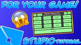 COMMENT À GET THE ULTIMATE TROLLING GUI IN VOTRE JEU! (Roblox Studio)