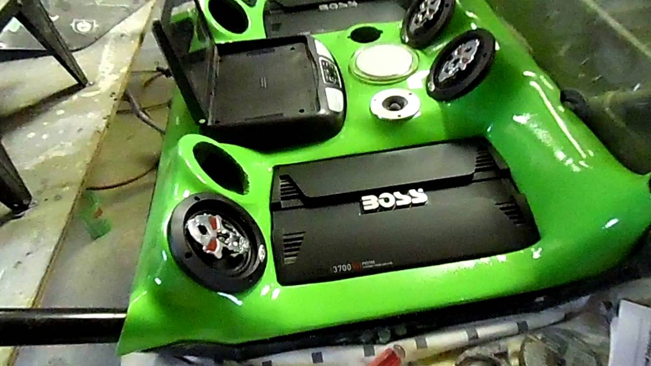 skull crusher project custom utv fiberglass interior flame painting mike 39 s accessories youtube. Black Bedroom Furniture Sets. Home Design Ideas