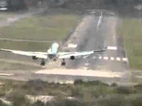 Aterrizaje extremo en Tegucigalpa