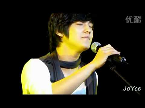 Kim Bum singing at Shanghai Fanmeet