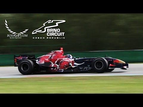 Ingo Gerstl - BOSS GP Brno 2015 - Toro Rosso STR1