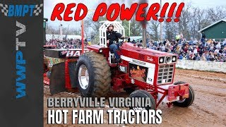 HOT FARM TRACTORS pulling at Berryville April 2018 for Dragon Motorsports by WWPTV