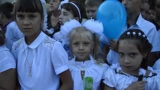 Марина Порошенко в Запорожье, 1 сентября 2016 (видео 061)