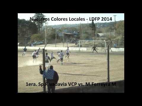LDFP 2014 1era Sp  Rivadavia VCP vs  M Ferreyra Mño