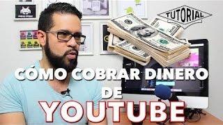 Cómo cobrar el dinero que paga Youtube - Google Adsense