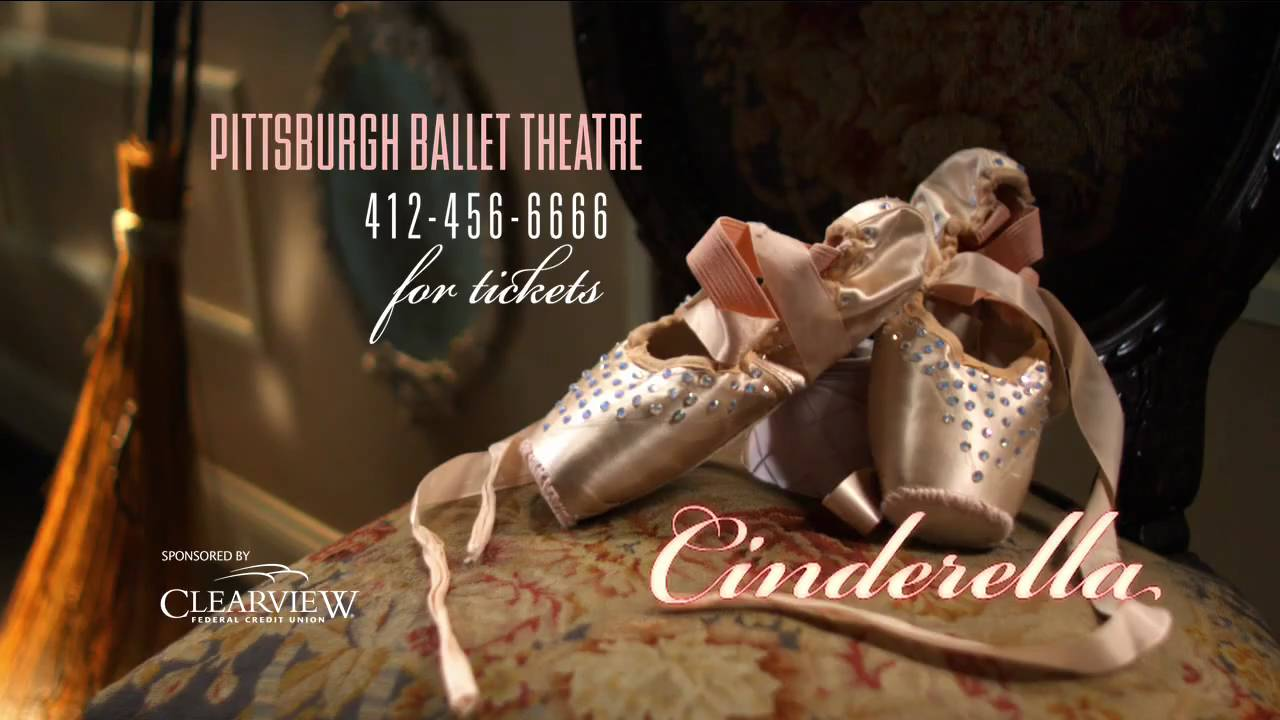 pittsburgh ballet theatre u0027s cinderella 2009 commercial youtube