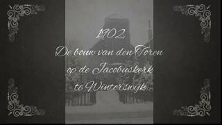 Zeer oude film van de bouw van de spits op de katholieke Jacobuskerk in Winterswijk. :-)