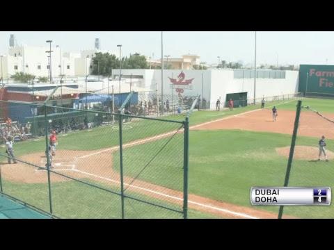 MESAC Baseball Game 6 Round Robin Dubai v. Doha