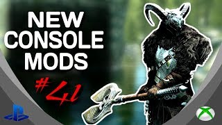 Skyrim Special Edition: ▶️5 BRAND NEW CONSOLE MODS◀️ #41 (PS4/XB1/PC)