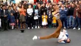 Street Dance,Break Dance, London Leicester Street.