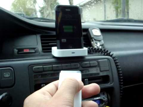 detachable iphone 3g dock car setup part 2 youtube. Black Bedroom Furniture Sets. Home Design Ideas