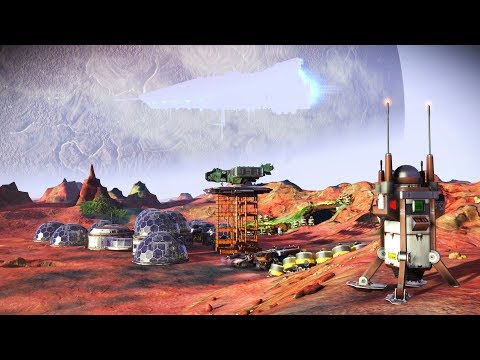 No Man's Sky - Longplay 65 Permadeath - the TY Corp mining base