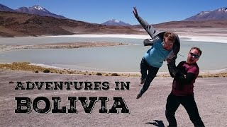 Adventures on Bolivia's Death Road and Salt Flats