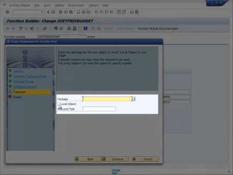 How to generate a SOAP endpoint from a simple SAP Function Group within a few minutes