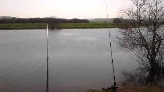 Рыбалка в греции,озеро(Озеро