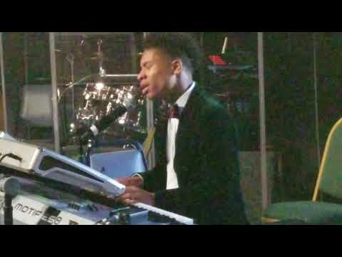 "16 yr old Caleb Carroll singing - Cover -""Pray for Me"" by Kirk Franklin"