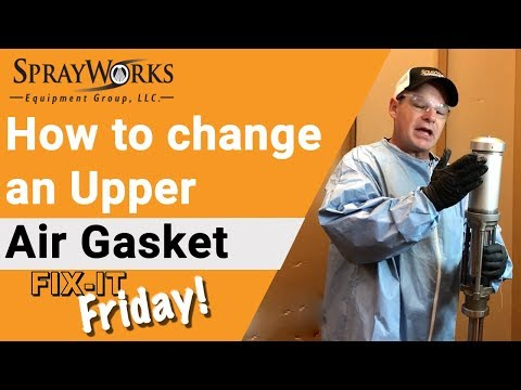 Fix-It Friday! How to replace a GHO Pump Upper Air Gasket?