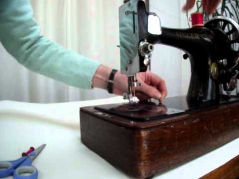 How To Thread A Singer Long Bobbin Sewing Machine YouTube Gorgeous How To Thread Bobbin On Singer Sewing Machine