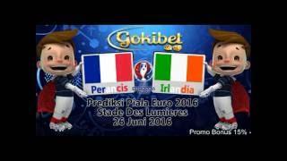 Prediksi Bola Perancis vs Irlandia 26 Juni 2016(Dapatkan Kejutan lainnya hanya di Gokibet.info Hubungi kami di: Call & SMS: +855979377716 Blackberry: 2b42f758., 2016-06-23T11:24:15.000Z)