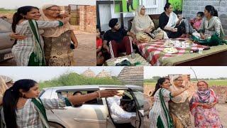 ||🥘🍲ਪੰਜਾਬੀਆ ਦੀ ਮਹਿਮਾਨ ਨਿਵਾਜੀ🍹||😀ਉੱਦਮ ਨੇ ਮਾਸੀ ਨਾਲ ਕੀਤੀ ਬਹੁਤ ਸਾਰੀ ਮਸਤੀ||by punjabi cooking and punjabi