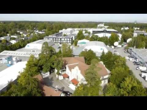 Das Bavaria Film Gelände im Süden von München