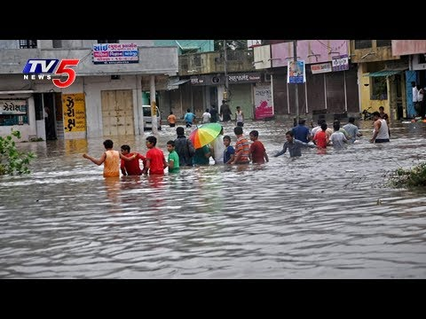 Heavy Rains in Gujarat, Nearly 7000 People Relocated to Safe Places | TV5 News