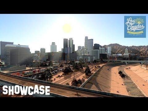 Los Angeles in Cities: Skylines  (4k)