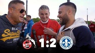 1. FC KÖLN VS DARMSTADT 98 │KÖLNER OHNE 1. LIGA NIVEAU AU