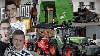 """INTRO! Zmiana Poziomu, Sadzenie Ziemniaków & Sprzedaż Koni $$$ ☆ """"od Zera do Farmera"""" #75 FS 19"""