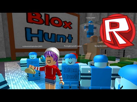 ROBLOX BLOX HUNT | I'M ROOD LIKE DAT | RADIOJH GAMES & Sally