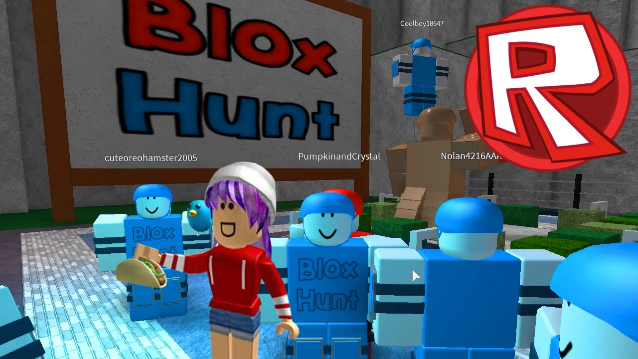 ROBLOX BLOX HUNT | I'M ROOD LIKE DAT | RADIOJH GAMES ...