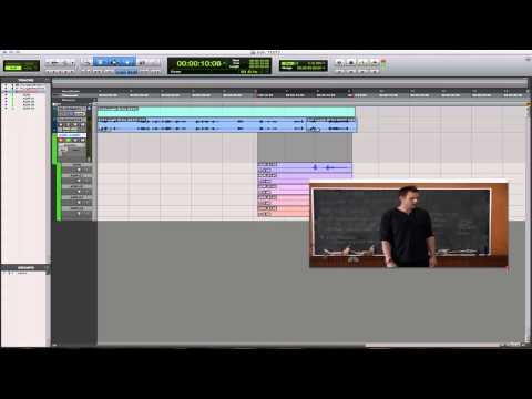 Pro Tools ADR Dubbing Tutorial Using Playlist Comp Feature