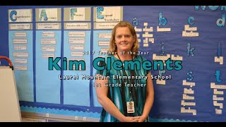 Laurel Mountain Elementary 2017 Teacher of the Year : Kim Clements
