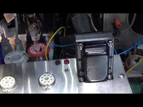Lets Build a Guitar Amplifier - Part 4 - Output transformer mistake and explination
