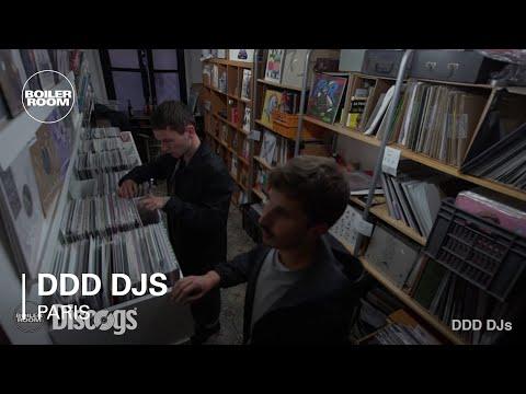 DDD DJs Boiler Room Paris DJ set