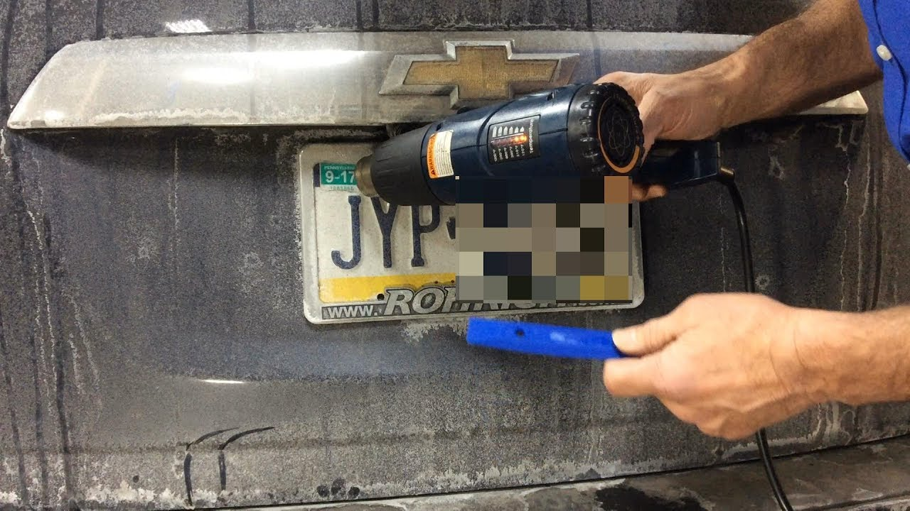 how to remove registration stickers