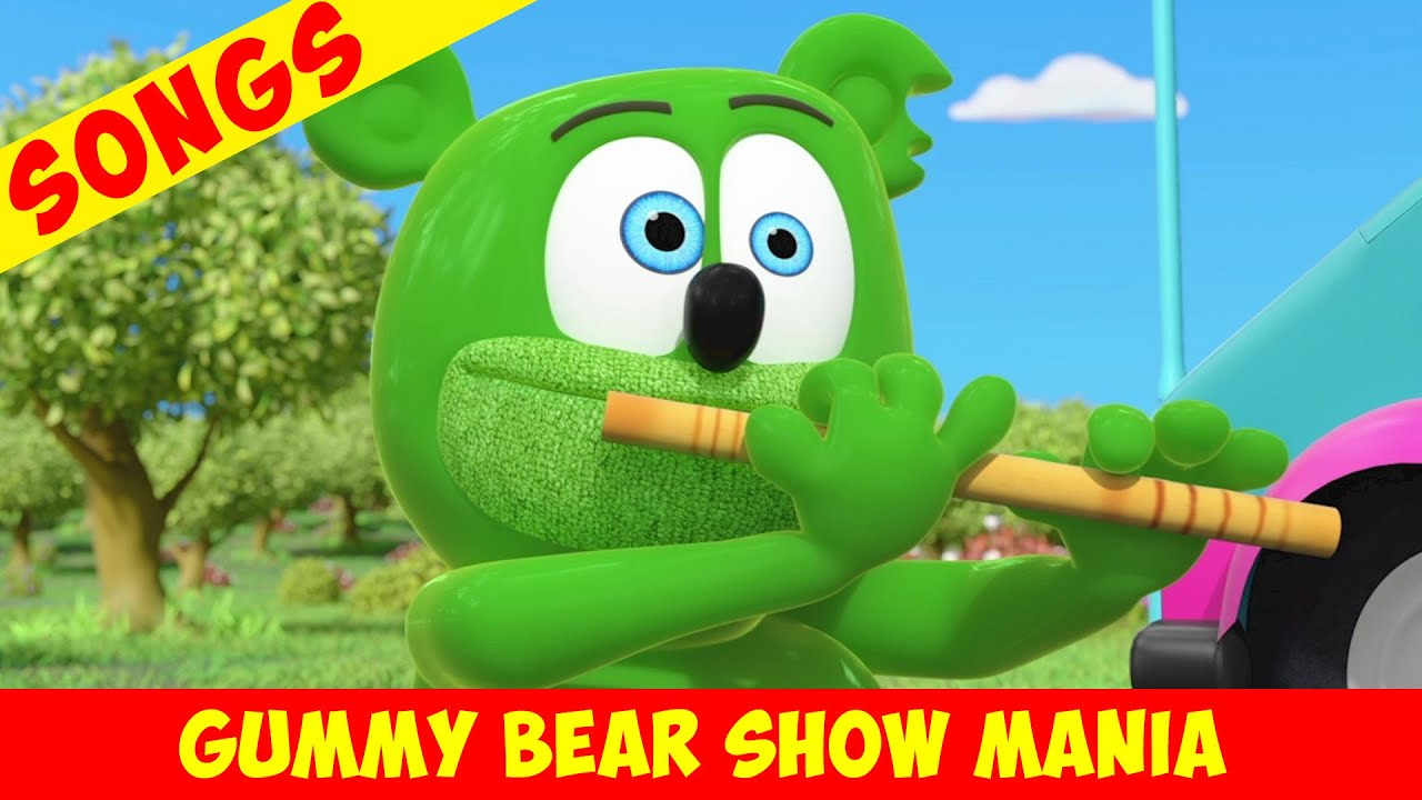 "Gummibär ""Play My Flute"" - Pied Gummy (Extended Song) Gummy Bear Show MANIA"