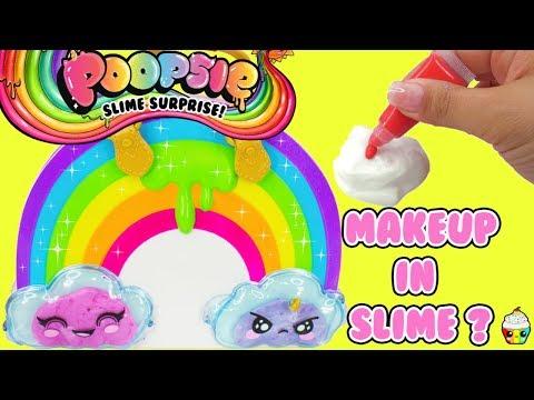 Poopsie Chasmell Rainbow Slime Kit Mixing Makeup in Slime
