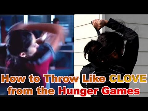 How to Throw Knives Like Clove from the Hunger Games