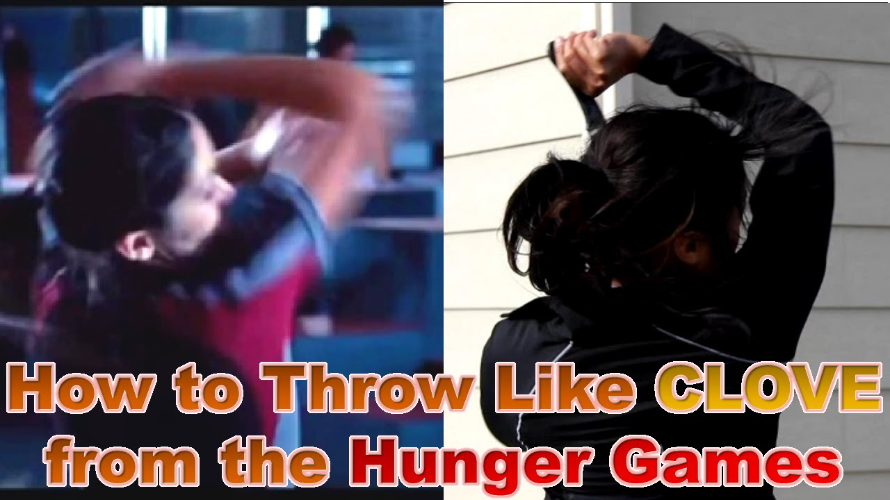 how to throw knives like clove from the hunger games youtube