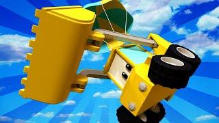 Kleinen Trucks | Das Fallschirmsprung - Lehrreiche Cartoons für Kinder 👶 🚚