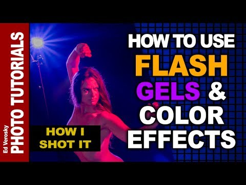 Flash Gels and Color Effects
