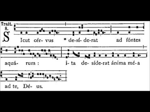 Giovanni Pierluigi da Palestrina: Sicut Cervus.