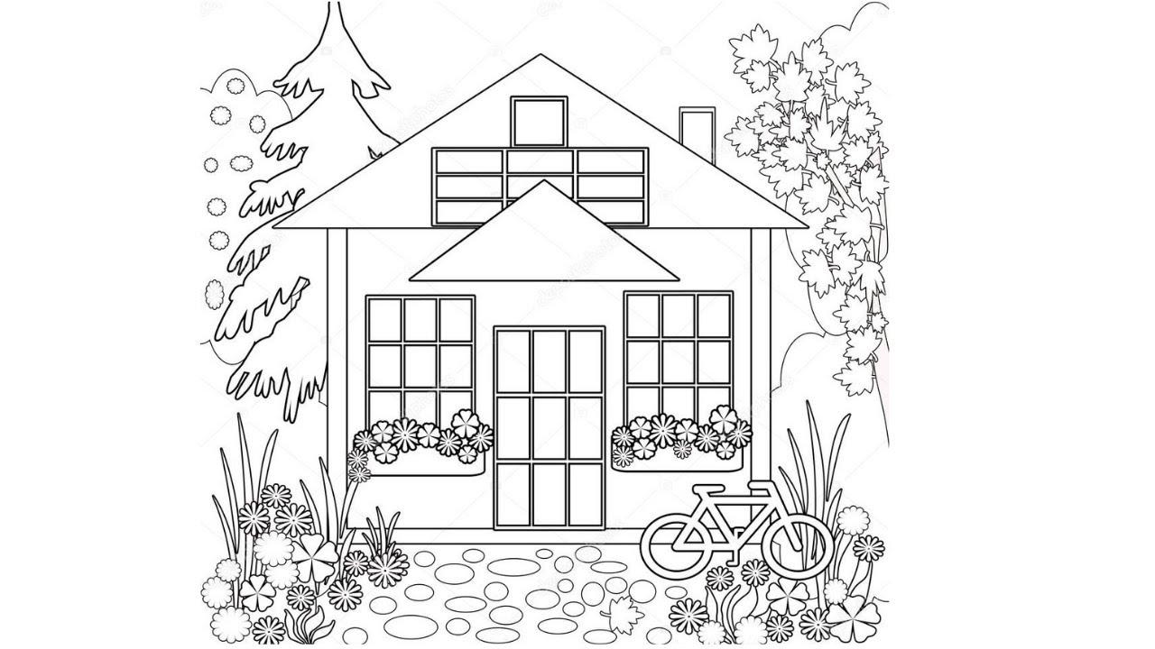 Cómo Dibujar Faciles Un Casa A Lapiz Dibujos A Lápiz Fáciles