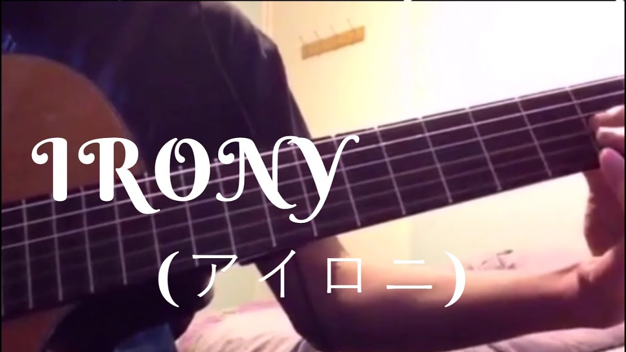 Irony Vocaloid Fingerstyle Guitar Cover Tabs Youtube