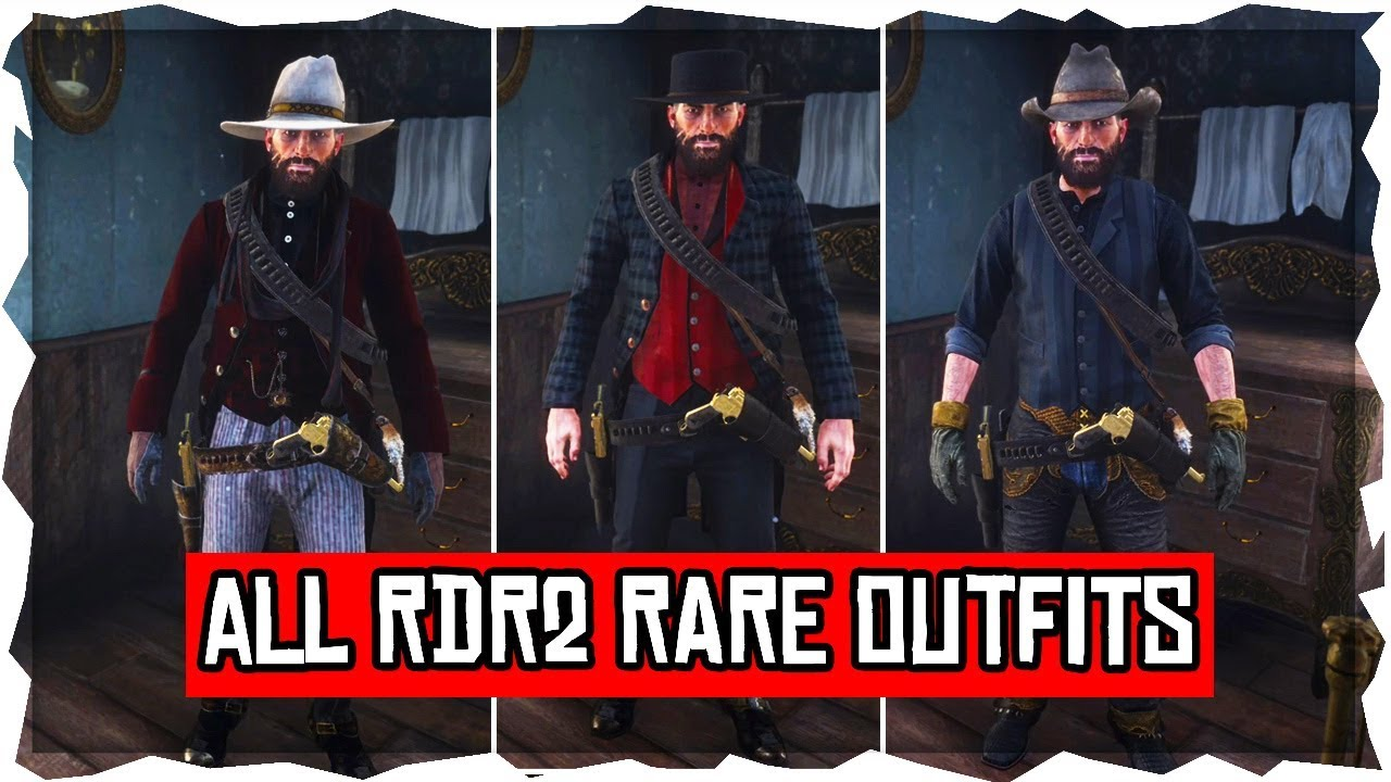 Red Dead Redemption 2 How To Get All Rare Outfits Costumes In