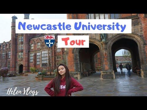 Newcastle University Tour (English Subtitles)