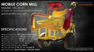 Mobile Corn Mill
