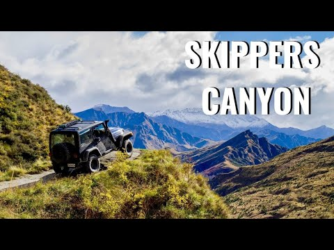NZ 4WD Trip: Exploring Skippers Canyon